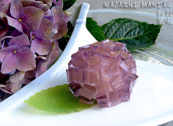 Wagashi Ajisai