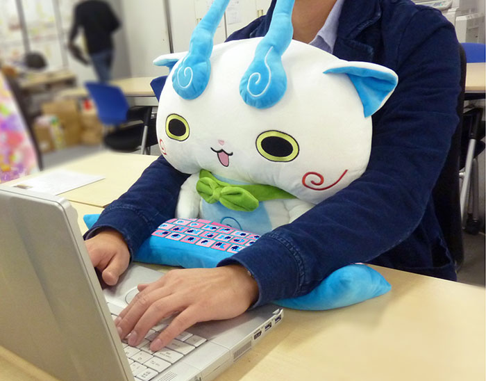 Cute Lap Buddies That Protect Your Wrists And Keep You