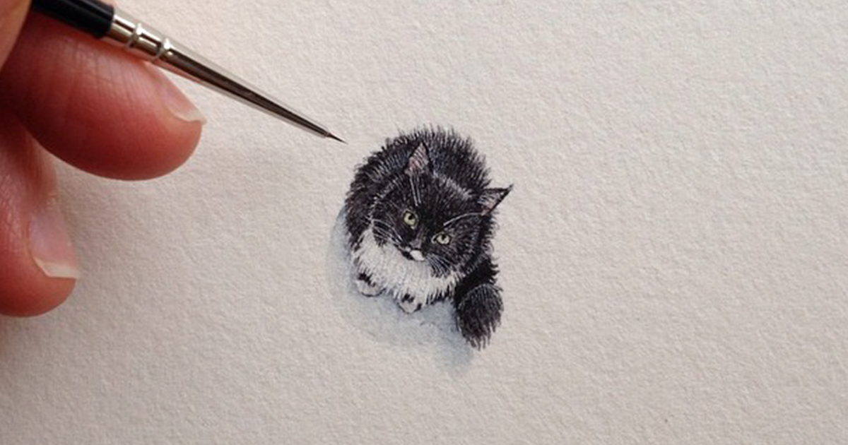 After Becoming A Mom, I Couldn't Find Time To Paint, So I Started Doing One Tiny Drawing A Day