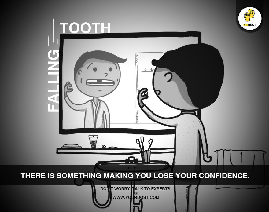 Falling Tooth