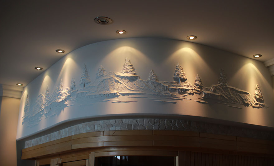 How To Drywall Art Sculpture Drywall Art On Pinterest Plaster Plaster Art And Drywall With