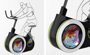 Exercise Bike Doubles As Washing Machine To Make You Fit While Cleaning Your Clothes