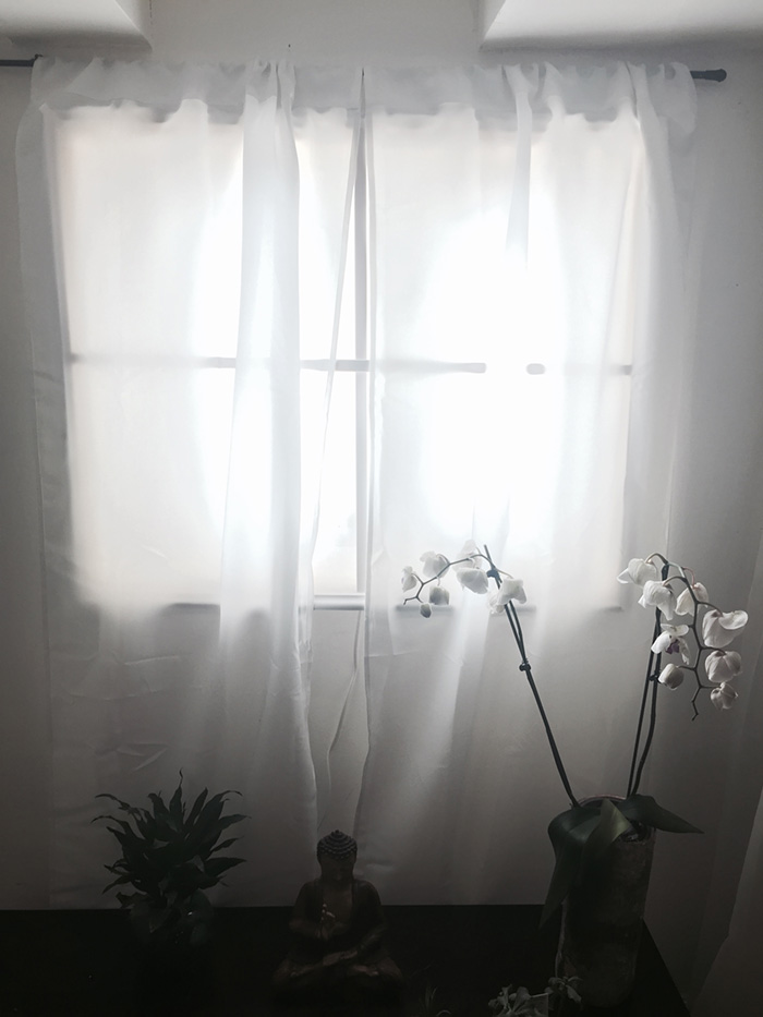 Basement Window Curtains
