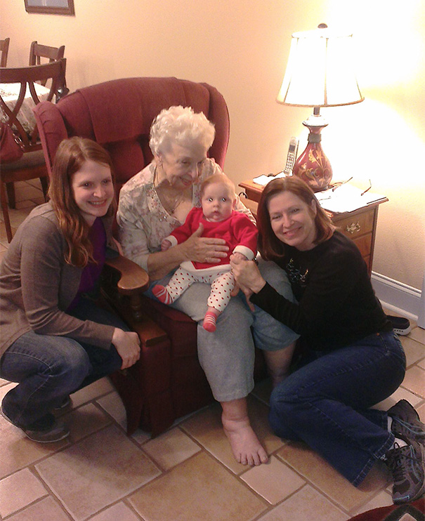Four Generations In One Picture