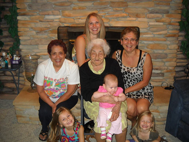 A Picture Of 5 Generations In My Family