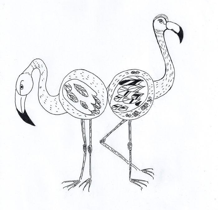 #33 Flamingos