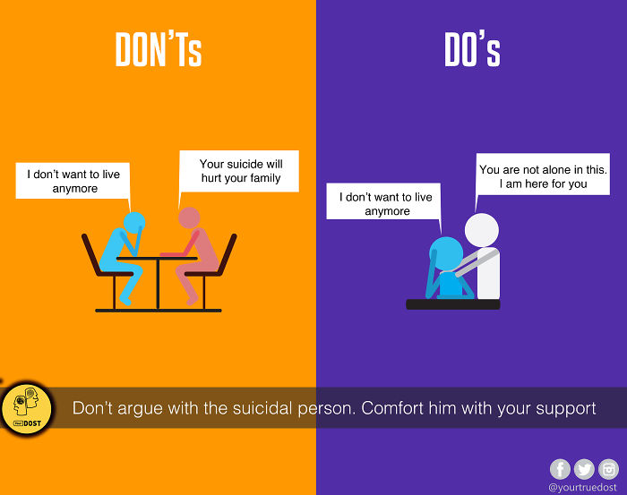 Do's & Dont's When A Person Is Depressed