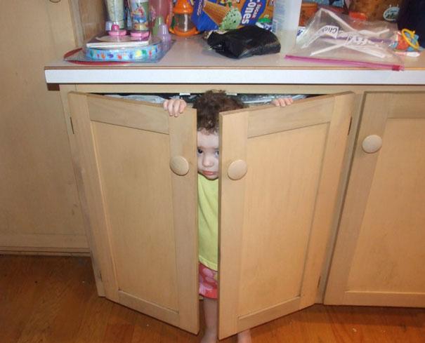 My Daughters Idea Of Hide And Seek