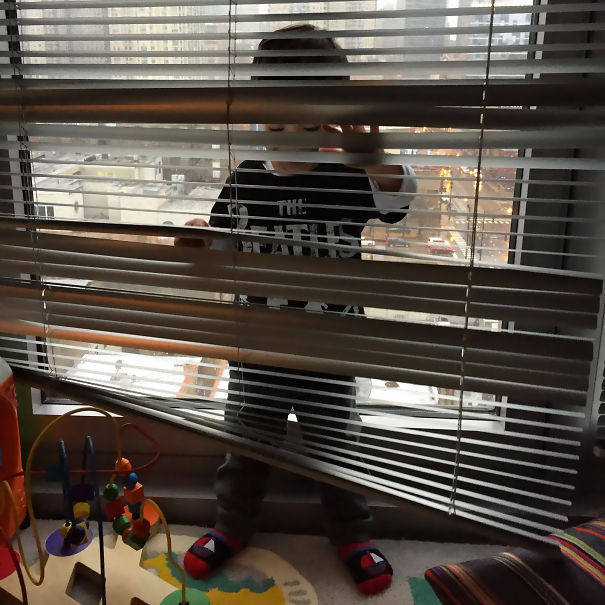 My Son Won't Be Winning Any Hide & Seek Tournaments