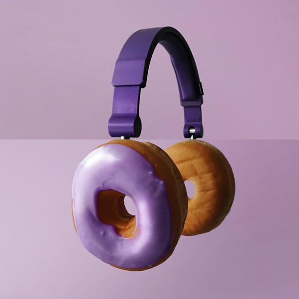 Headphones + Donuts