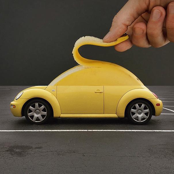 Banana + Car