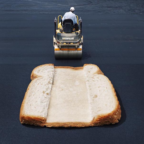 Steamroller + Bread