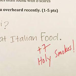 Statistics Professor Asks Students Hilarious Extra Credit Questions (6 Pics)