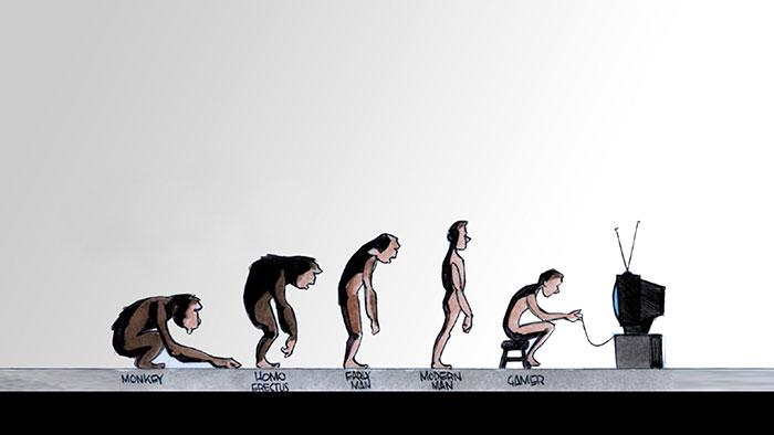 Funny satirical evolution charles darwin day 25  700