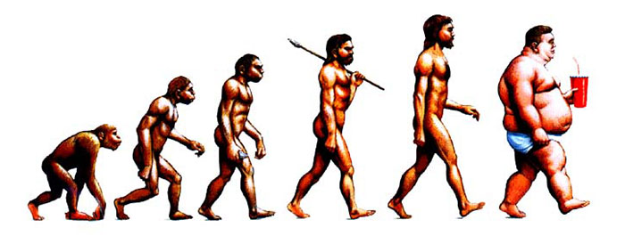The De-Evolution Of Man