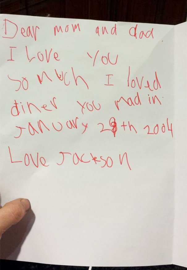 A Valentine's Day Card From My Son