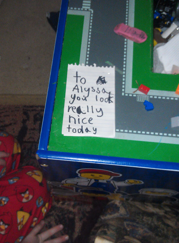 Sons First Love Note