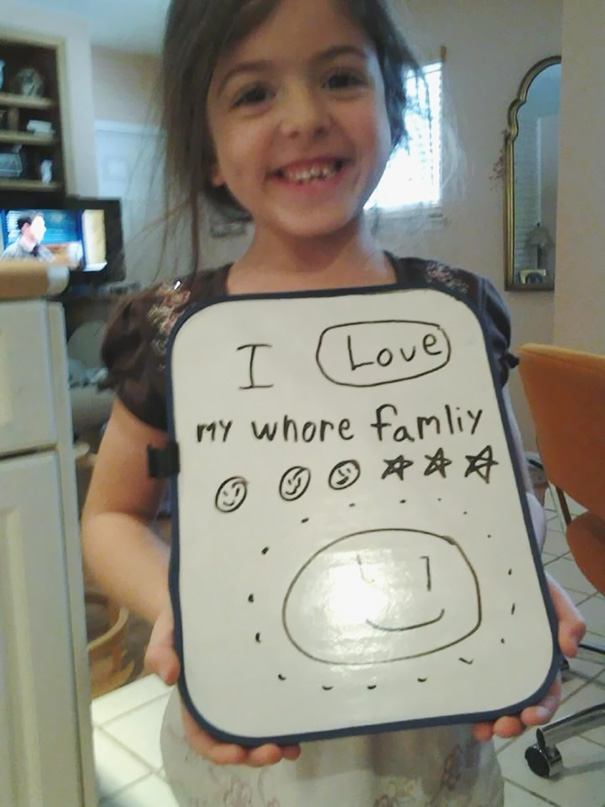 Image of: Youtube 6 Gotta Love Kids Very Funny Pics 47 Brutally Honest Valentine Cards By Kids Bored Panda