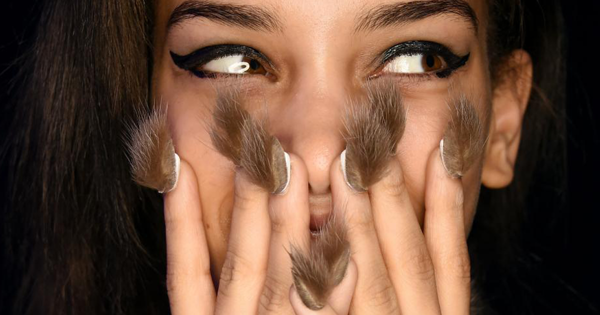 Furry Nails Is The Hairiest Trend Right Now | Bored Panda