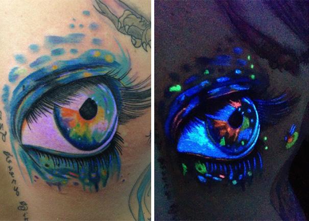 Glow In The Dark Tattoo