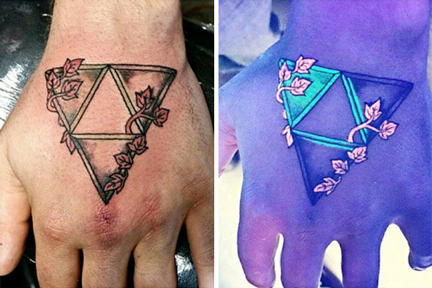 Blacklight Triforce