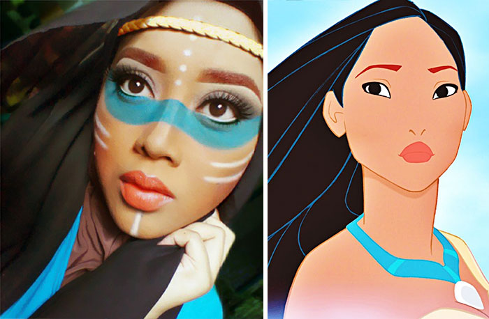 Hijab Disney Woman Uses Her To Turn Herself Into