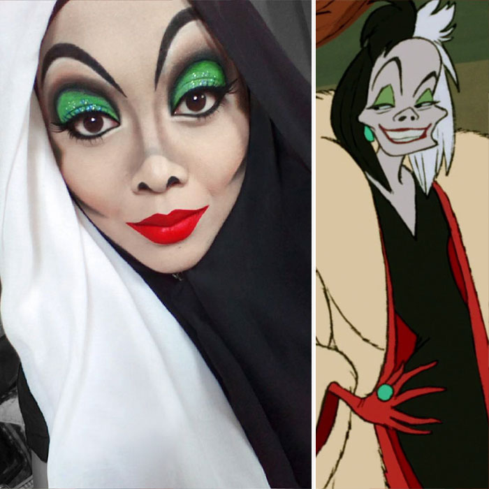 Malaysian Girl Transforms Herself Into Disney Characters And They ...