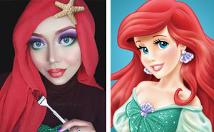Hijab Disney: Woman Uses Her Hijab To Turn Herself Into Disney Princesses