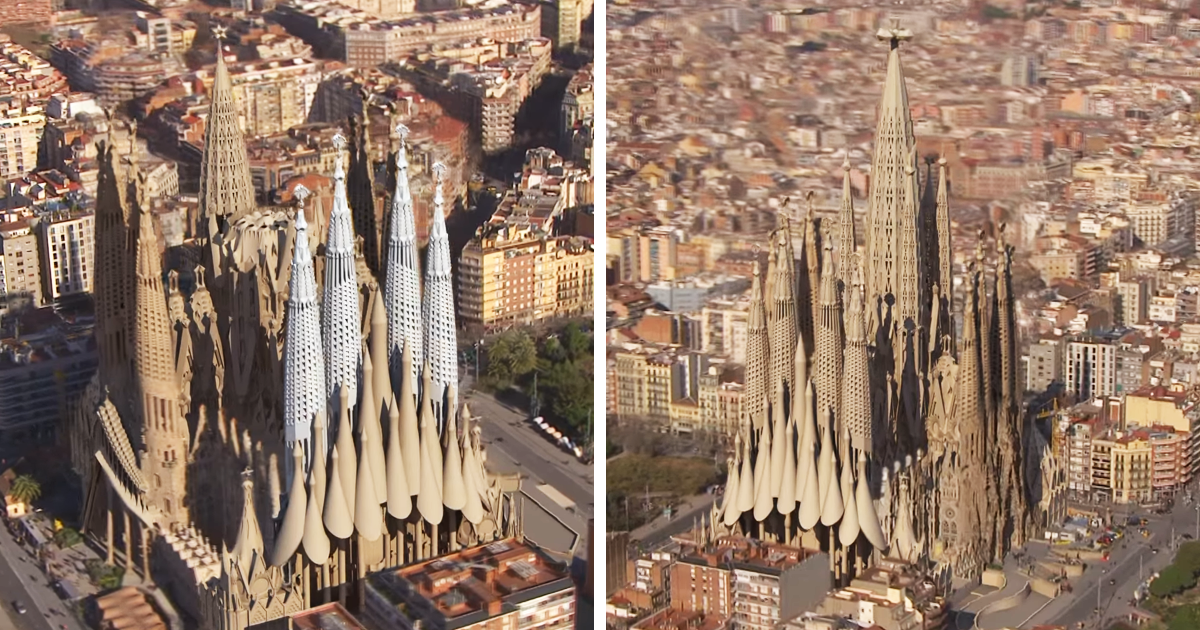 how sagrada familia will look in 2026 bored panda. Black Bedroom Furniture Sets. Home Design Ideas