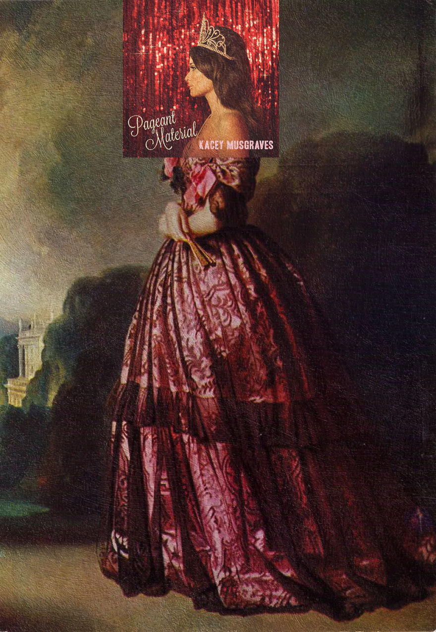 Pageant Material By Kacey Musgraves + Princesa De Joinville By Franz Xaver Winterhalter