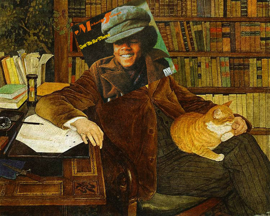 Got To Be There By Michael Jackson + Portrait Of Edouard Rod By Ernest Bieler