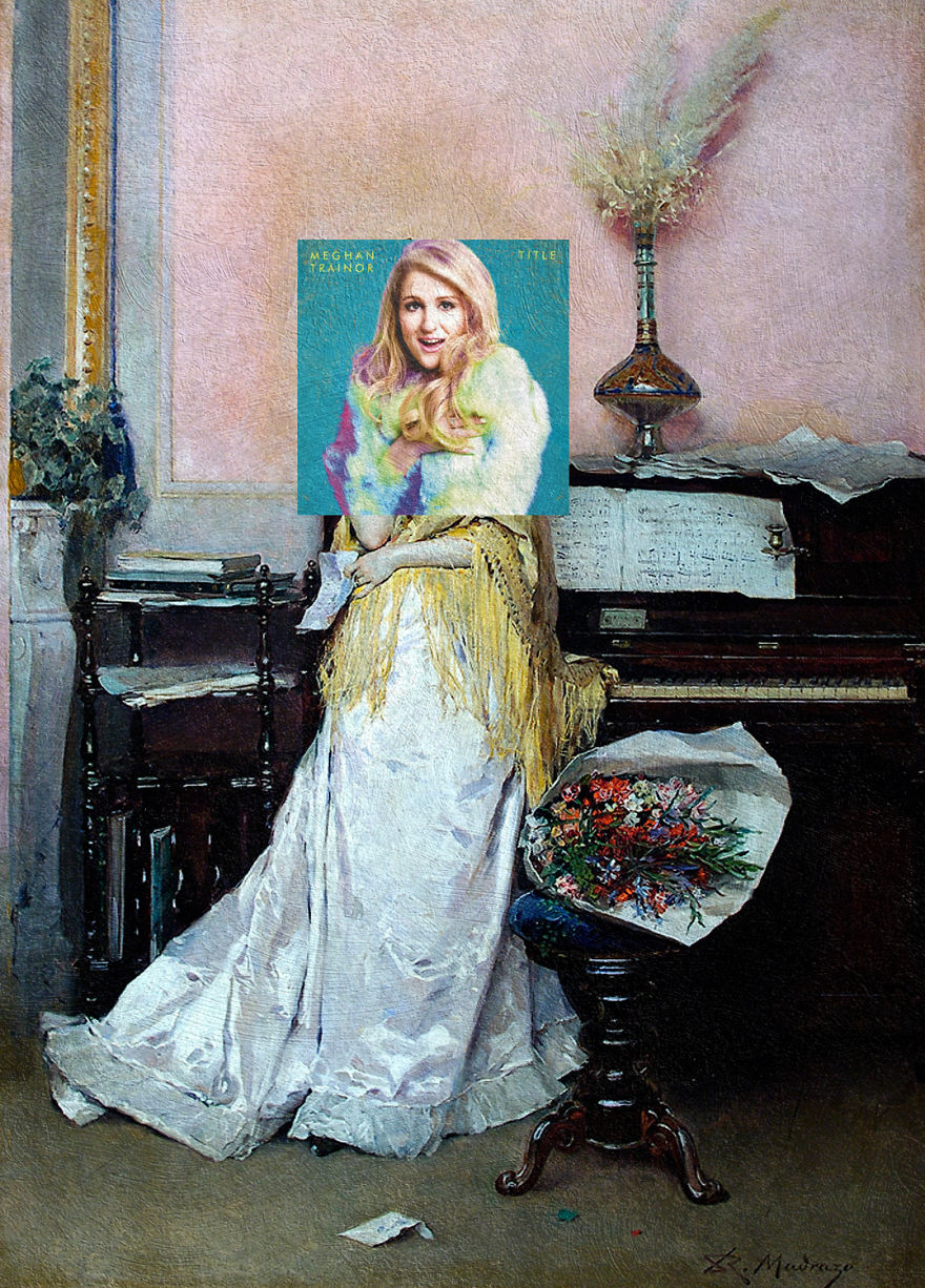 Title By Meghan Trainor + Reverie - The Letter By Raimundo De Madrazo Y Garreta