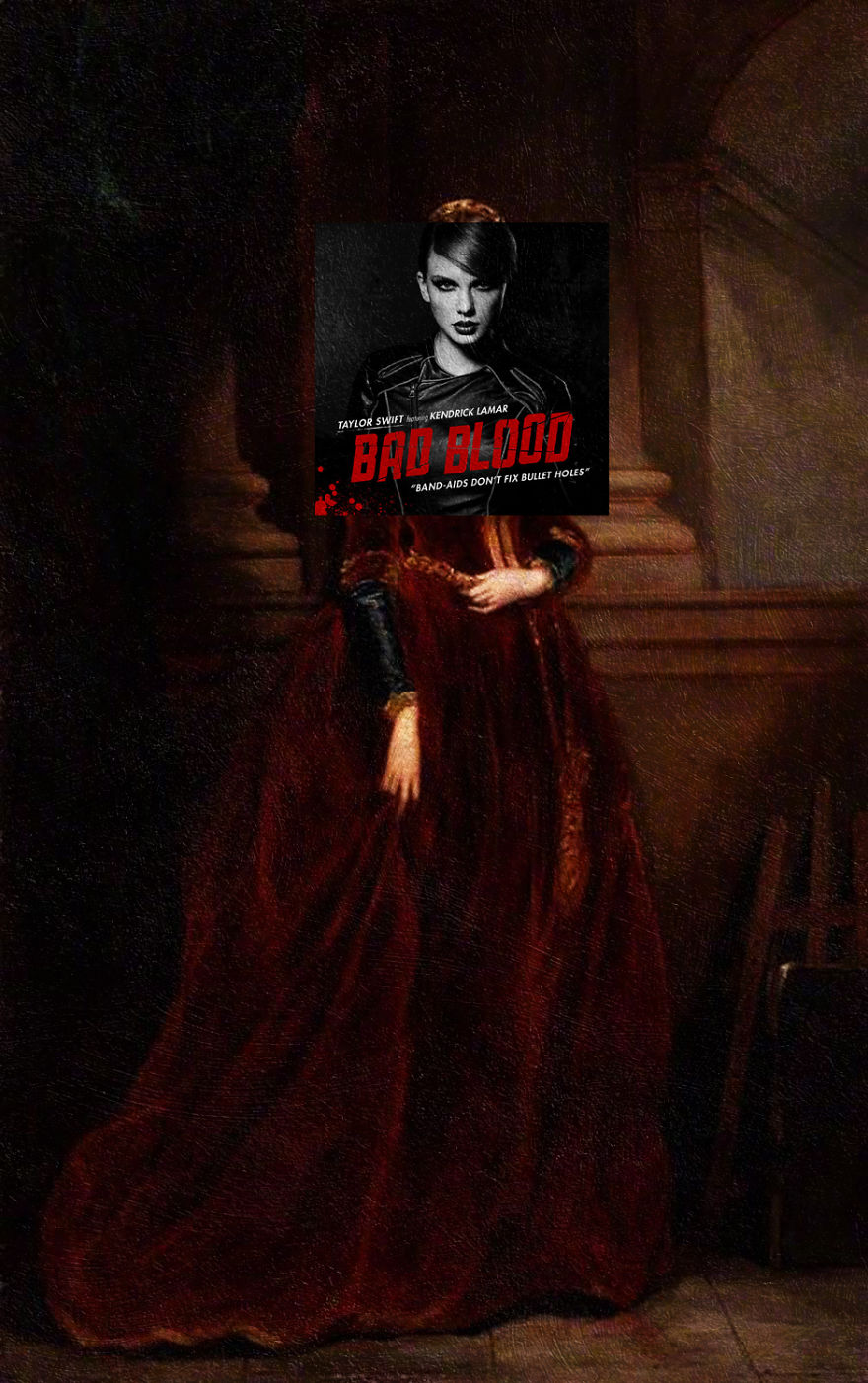 Bad Blood By Taylor Swift + Louisa, Marchioness Of Waterford By Sir Francis Grant