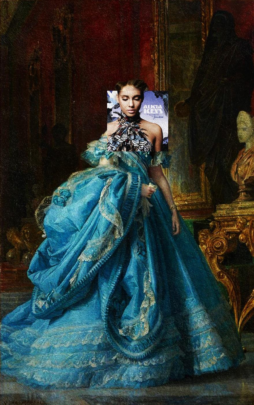 The Element Of Freedom By Alicia Keys + La Infanta Isabel De Bourbon E Bourbon By Vicente Palmaroli