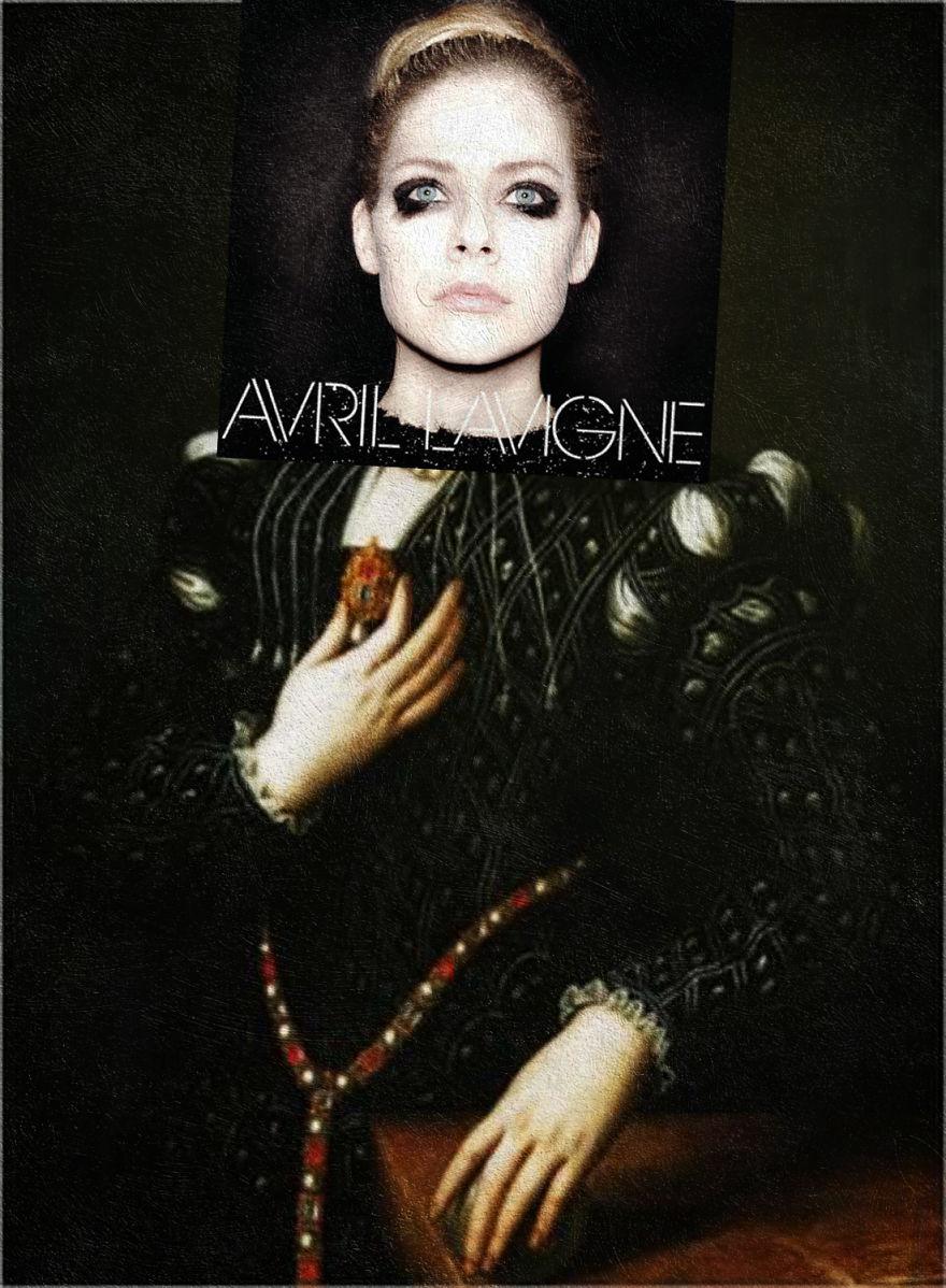 Avril Lavigne By Avril Lavigne + Lucrecia De' Medici By Bronzino