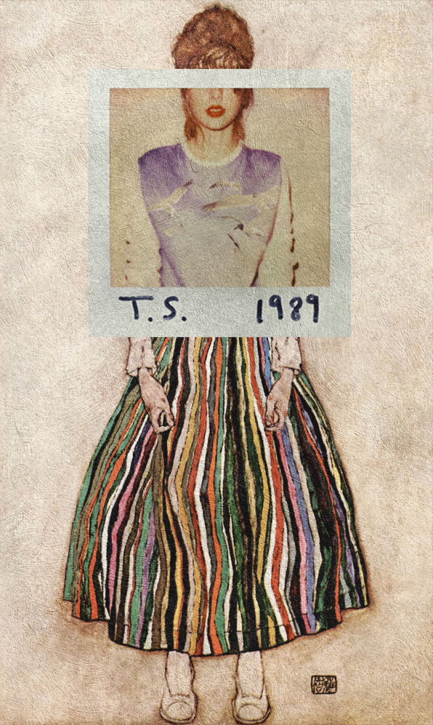 1989 By Taylor Swift + Portrait Of Edith (the Artist's Wife) By Egon Schiele