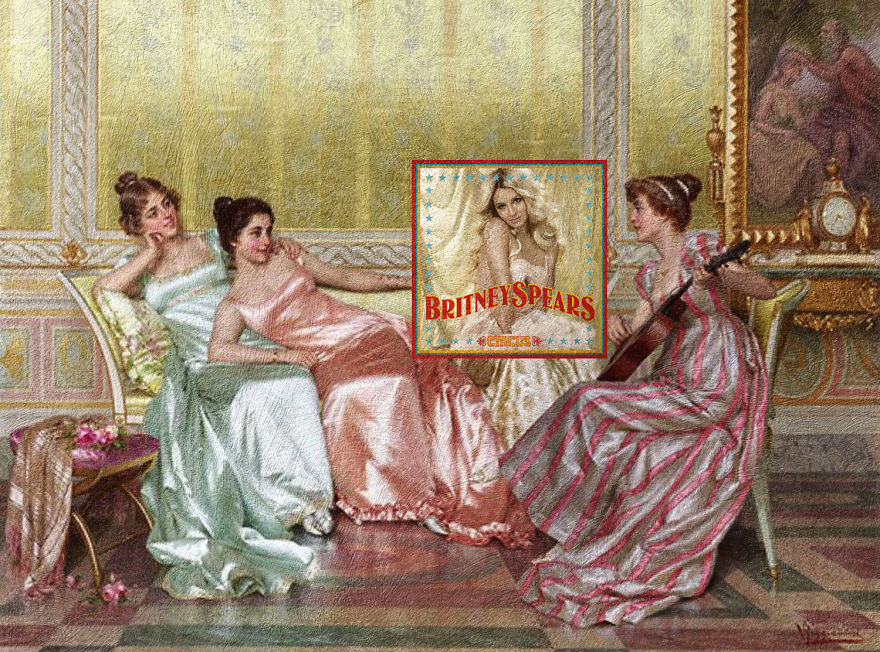 Circus By Britney Spears + La Soiree By Vittorio Reggianini