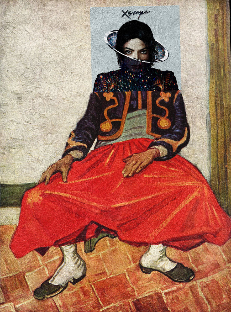 Xscape By Michael Jackson + The Zouave By Vincent Van Gogh