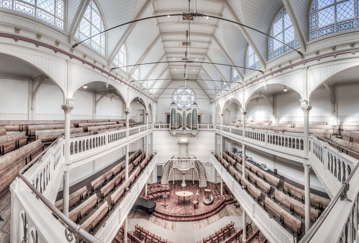 I Photograph Beautiful Interiors Of Amsterdam's Churches