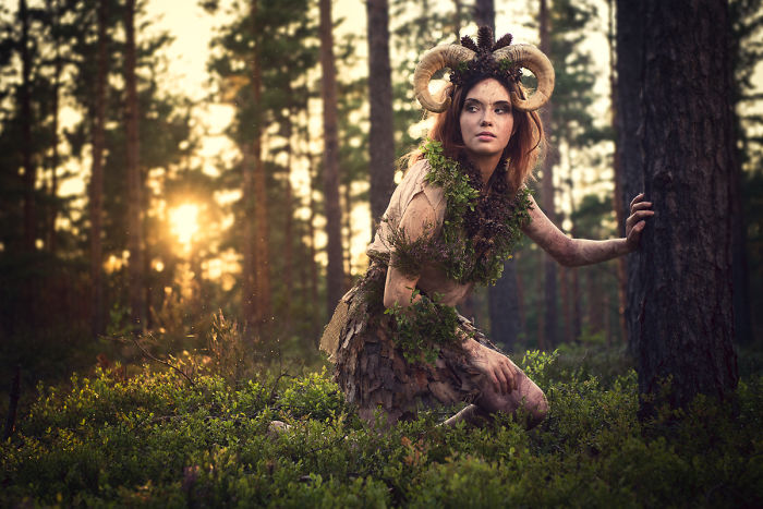 I Found A Magical Forest With Fauns In Finland