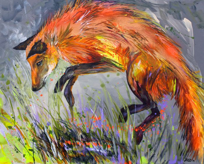 I Merge My Knowledge And Passion Of Nature To Paint Colorful Animals