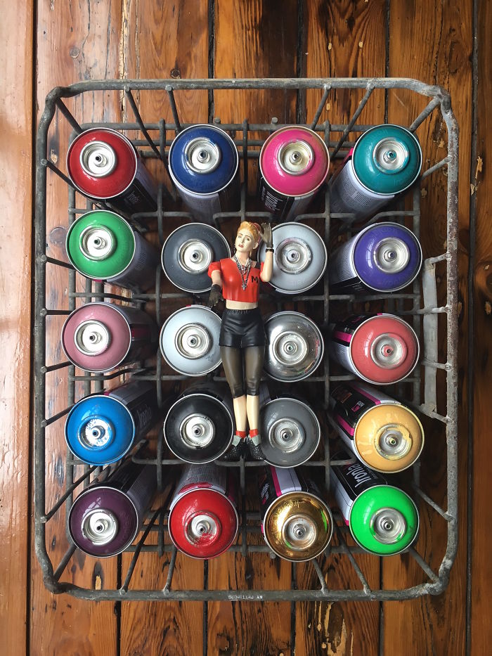 I Photograph Madonna Dolls In Quirky Spots As I'm On A Mission To Meet Madonna