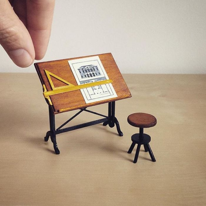 I Quit My Job As A Lawyer To Make Tiny Furniture