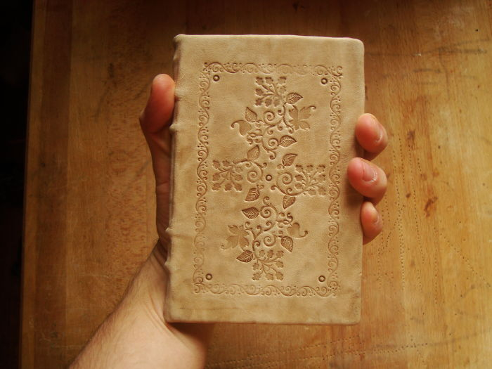I Taught Myself To Make Leather Journals, Inspired By Old Slavic Manuscripts.