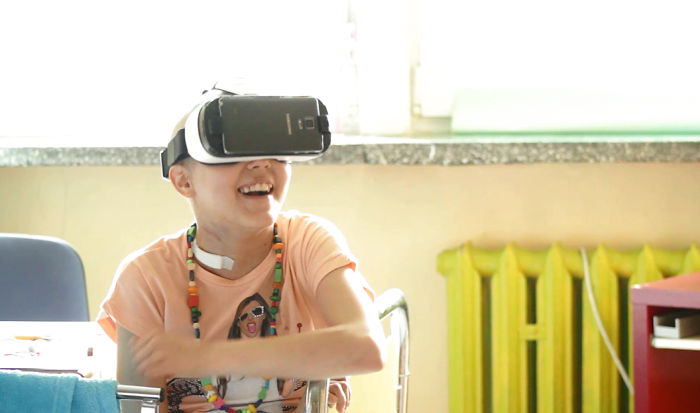 I Try To Make Kids With Cancer Smile Using Virtual Reality Technology