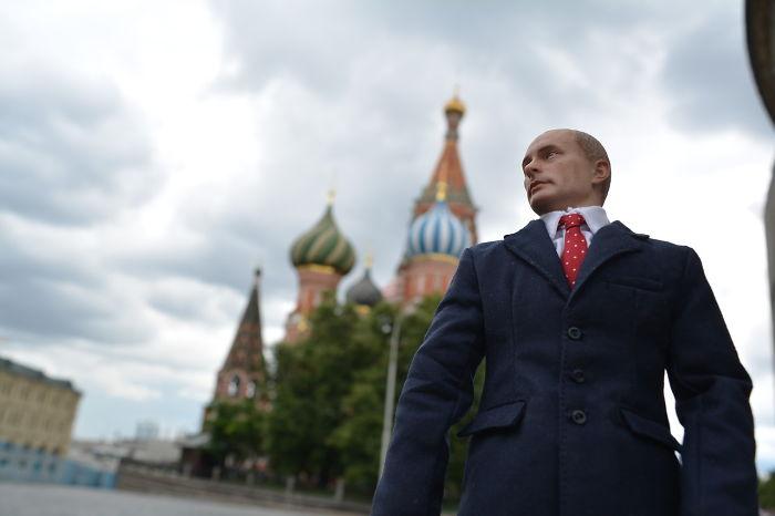 I'm Traveling With Putin