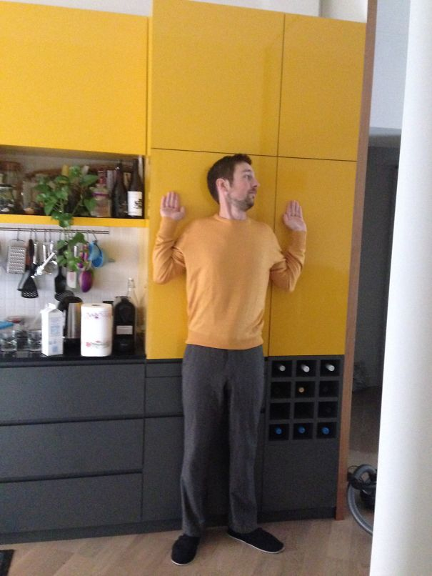 This Is How I Found My Lover In The Kitchen One Morning.. Wait.. Where Is He?