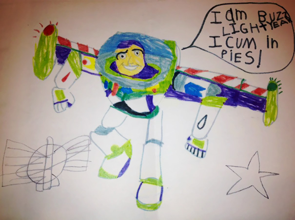3 i come in peace - Fun Drawings For Kids