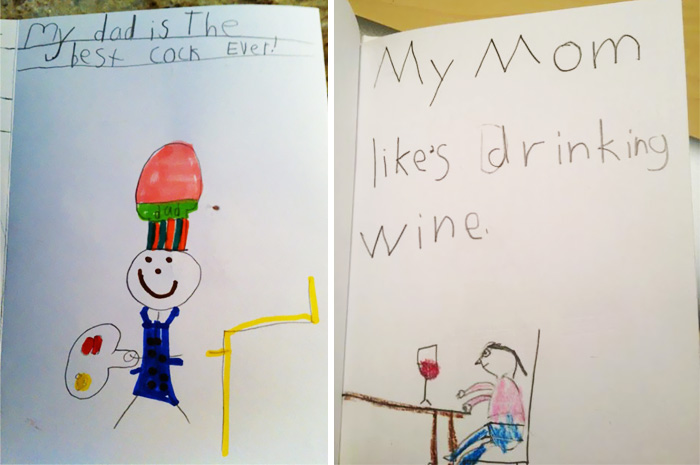 20+ Hilariously Inappropriate Kids' Drawings