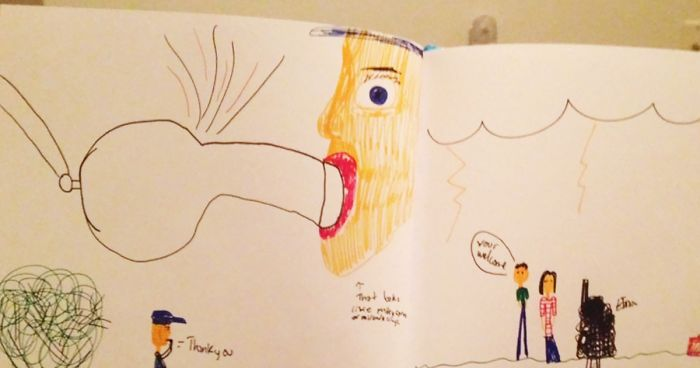 20 hilariously inappropriate kids drawings - Fun Drawings For Kids